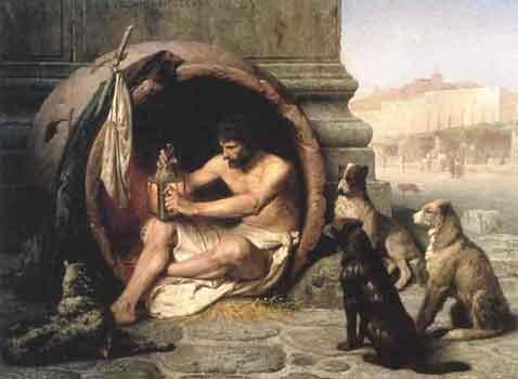 milos-rastovic_filozofi_sokrat_DiogenesJLGerome-kod-sokrata